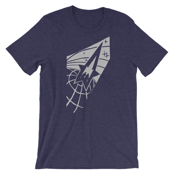 """Globe & Rocket"" Men's Short-Sleeve T-Shirt"