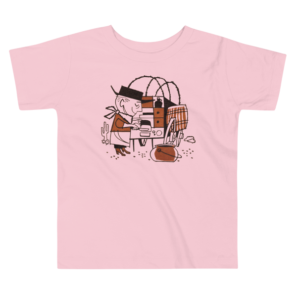 """Cowboy Cookie"" Baby & Toddler Short Sleeve Tee"