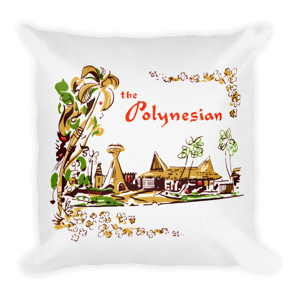 """The Polynesian"" Premium Pillow"