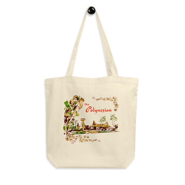 """The Polynesian"" Cotton Tote Bag"