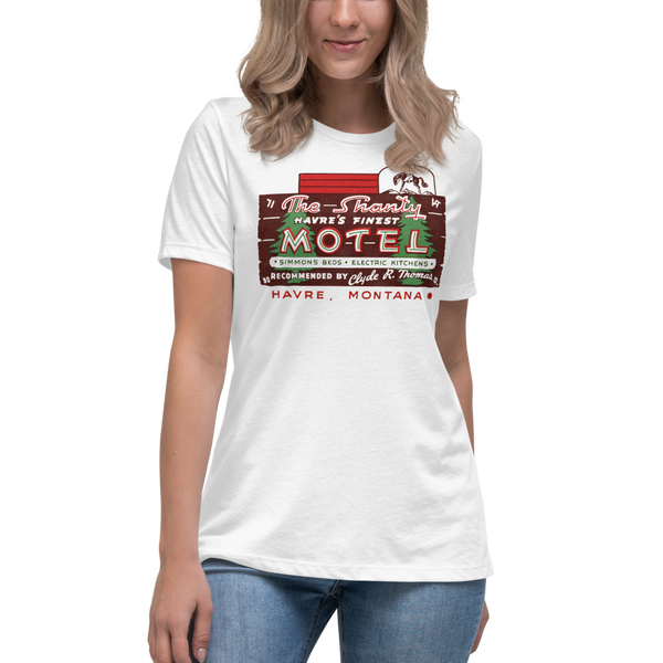 """The Shanty Motel"" Women's T-Shirt"