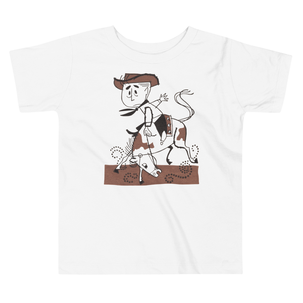 """Lil' Rodeo"" Baby & Toddler Short Sleeve Tee"