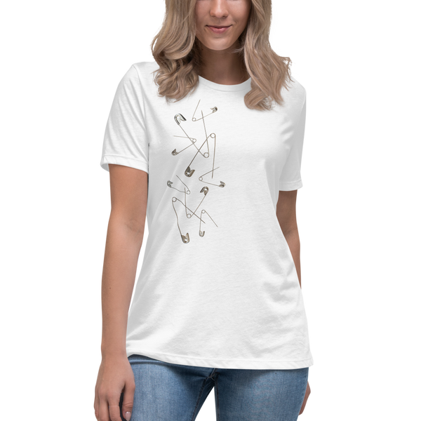 """Punk Pins"" Women's T-Shirt"