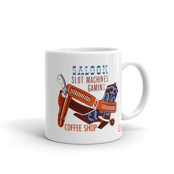 """Pony Express Saloon"" Mug"