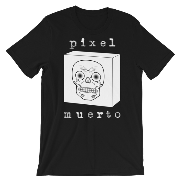 """Dead Pixel 2"" Men's Short-Sleeve T-Shirt"