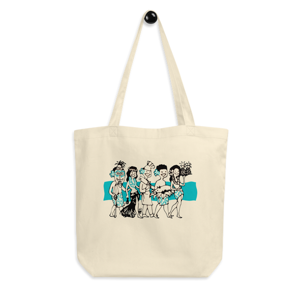 """Luau Party""Cotton Tote Bag"