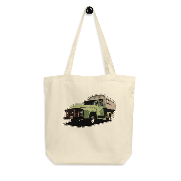 """Camp On!"" Cotton Tote Bag"
