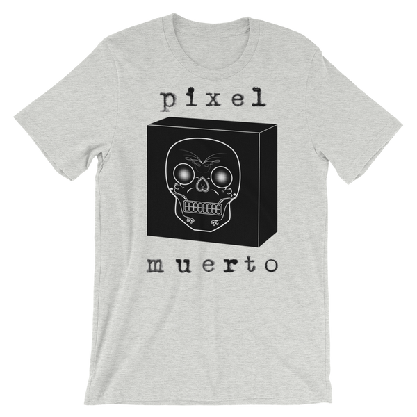 """Dead Pixel 1"" Men's Short-Sleeve Unisex T-Shirt"