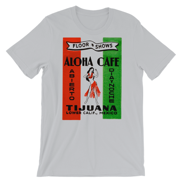 """Aloha Cafe"" Men's Short-Sleeve T-Shirt"