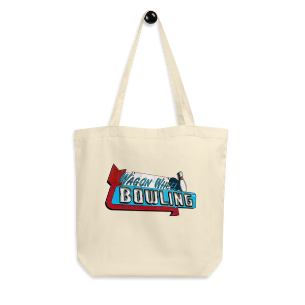"""Wagon Wheel Bowling"" Eco Tote Bag"