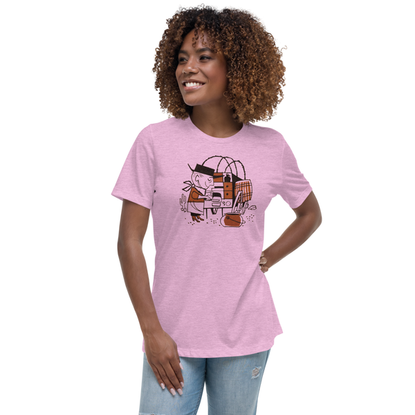 """Cowboy Cookie"" Women's T-Shirt"