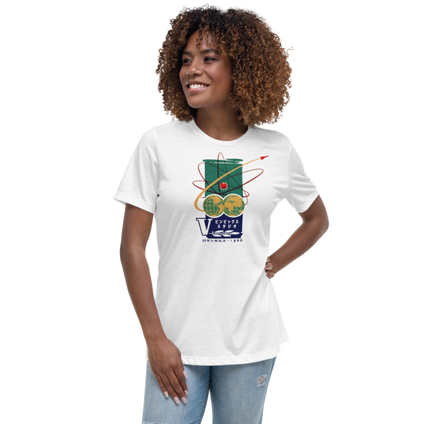 """Atomic Rocket"" Women's Relaxed T-Shirt"
