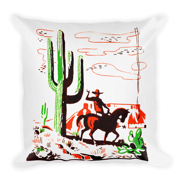 """The Ranch"" All-Over Print Basic Pillow Case w/ stuffing"