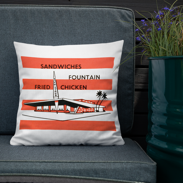 """The Wich Stand"" Premium Pillow"