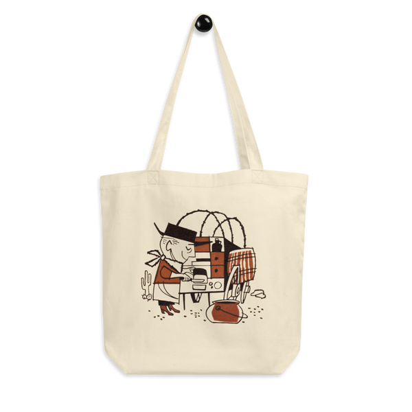 """Cowboy Cookie"" Cotton Tote Bag"