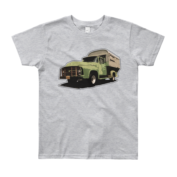 """Camp On"" Kids & Youth Short Sleeve T-Shirt"