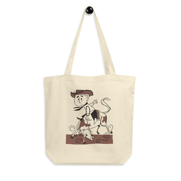 """Lil' Rodeo"" Cotton Tote Bag"