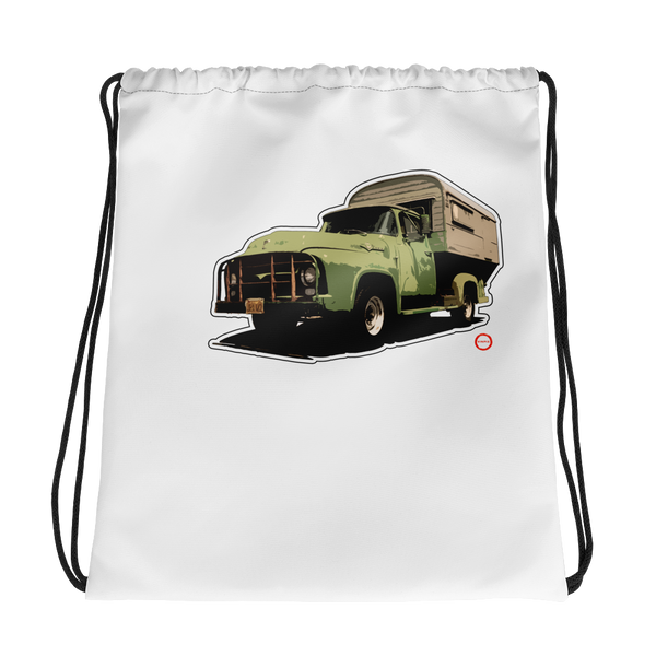 """Camp On"" Drawstring bag"