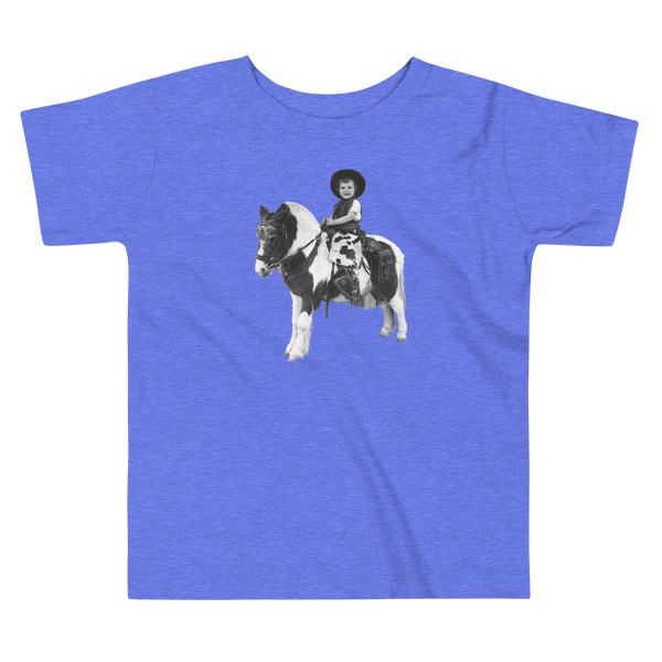 """Donna & Pony"" Baby & Toddler Short Sleeve Tee"