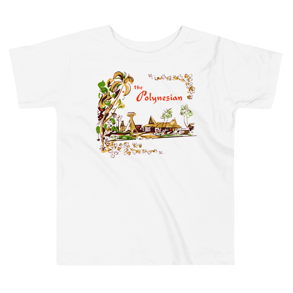 """The Polynesian"" Baby & Toddler Short Sleeve Tee"