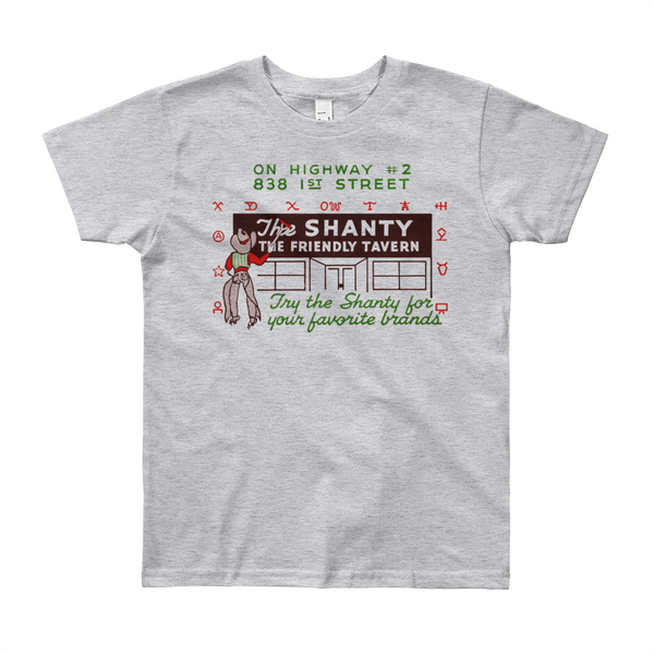 """The Shanty"" Kids & Youth Short Sleeve T-Shirt"