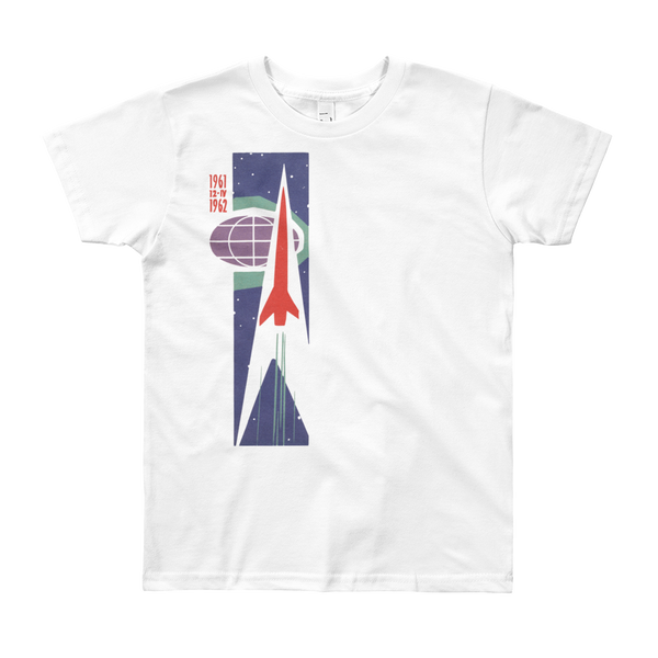 """6162 Rocket"" Kids & Youth Short Sleeve T-Shirt"