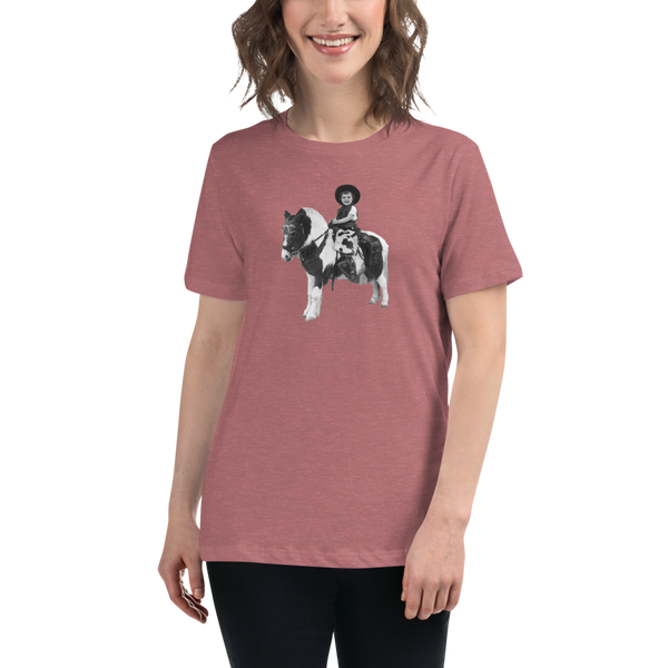 """Donna & Pony"" Women's T-Shirt"