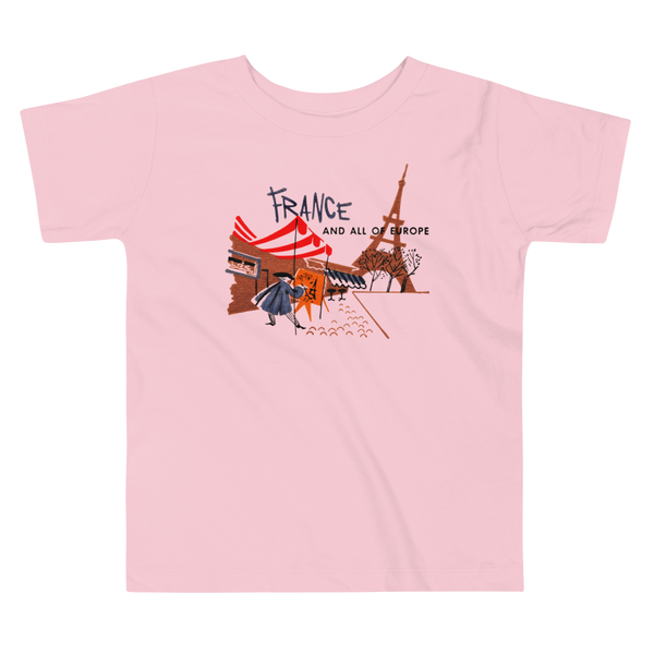 """France"" Baby & Toddler Short Sleeve Tee"