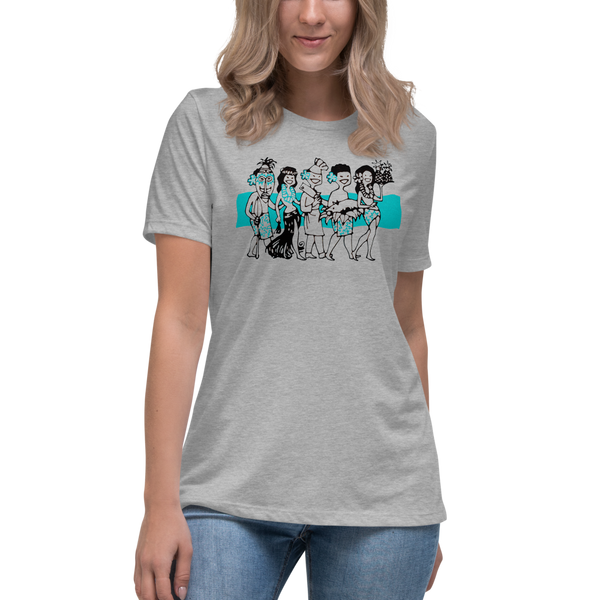 """Luau Party"" Women's T-Shirt"