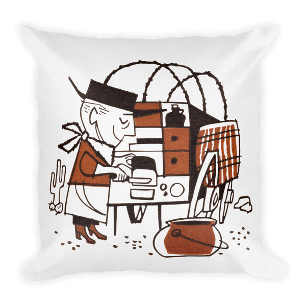 """Cowboy Cookie"" Premium Pillow"