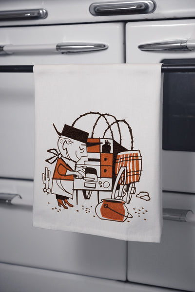 """Cowboy Cookie"" Cotton Dishtowel"