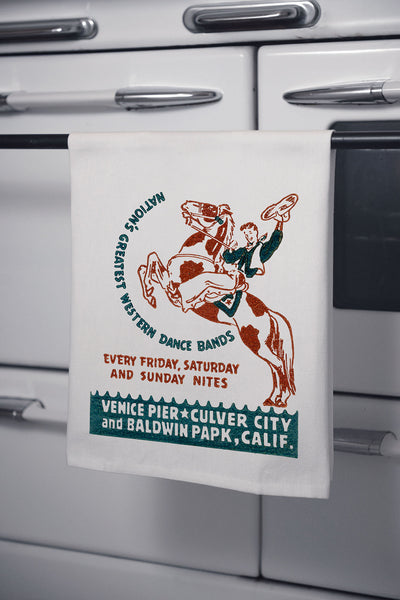 """Foreman Phillips"" Cotton Dishtowel"