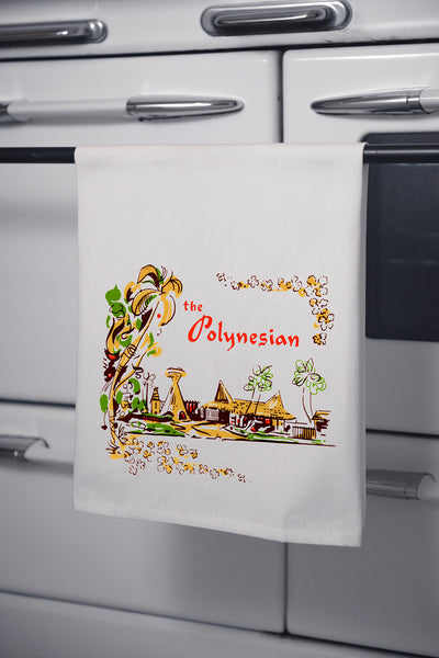 """The Polynesian"" Cotton Dishtowel"