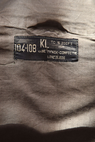 """Sergei Korolev"" Soviet Era Postmark Custom Printed on Vintage Military Field Jacket"