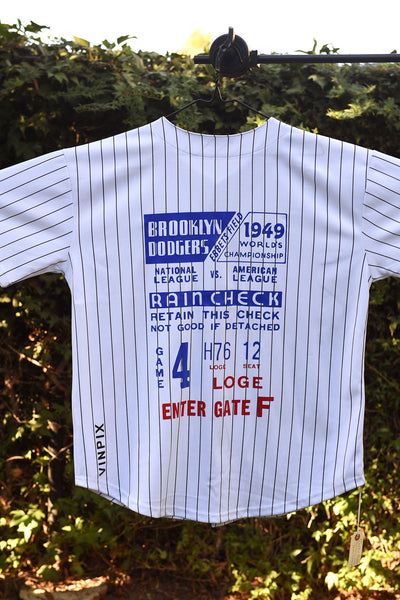 """Brooklyn Dodgers"" Baseball Jersey"
