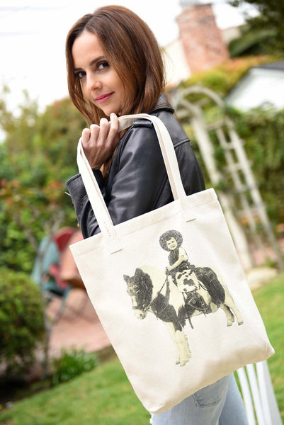 """Donna & Pony"" Eco Tote Bag"