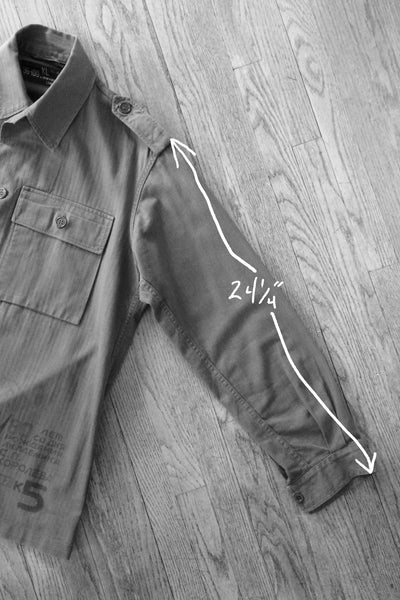 """Sergei Korolev"" Vintage Military Field Jacket"