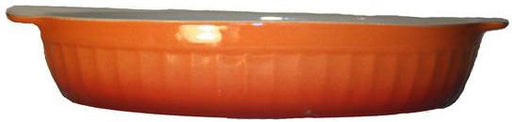 Cerutil Stoneware Oval Bakeware Red Orange – Made in Portugal-Bakeware-eshopping-eshopping