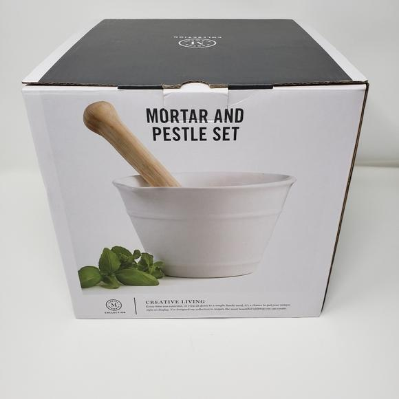 Martha Stewart - Mortar and Pestle Set-Bowl-Martha Stewart-eshopping