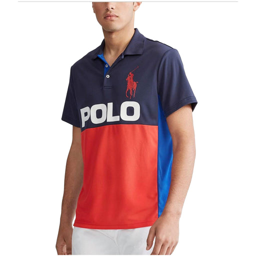 Polo Ralph Lauren Men's Performance Piqué Polo Shirt-Apparel-Ralph Lauren-Small-Cross Navy-eshopping
