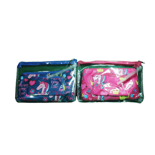 Pouch - Blue and Pink-Pouch-eshopping-eshopping