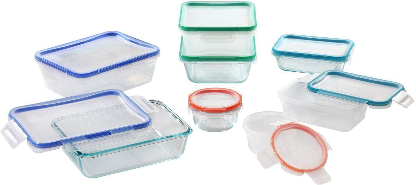 Snapware Total Solution 16-Pc Set-Storage & Containers-Snapware-eshopping