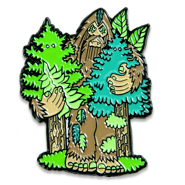 Bigfoot Full Body Enamel Pin