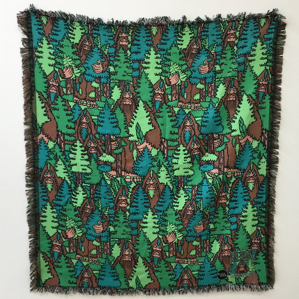 Bigfoot Woven Blanket