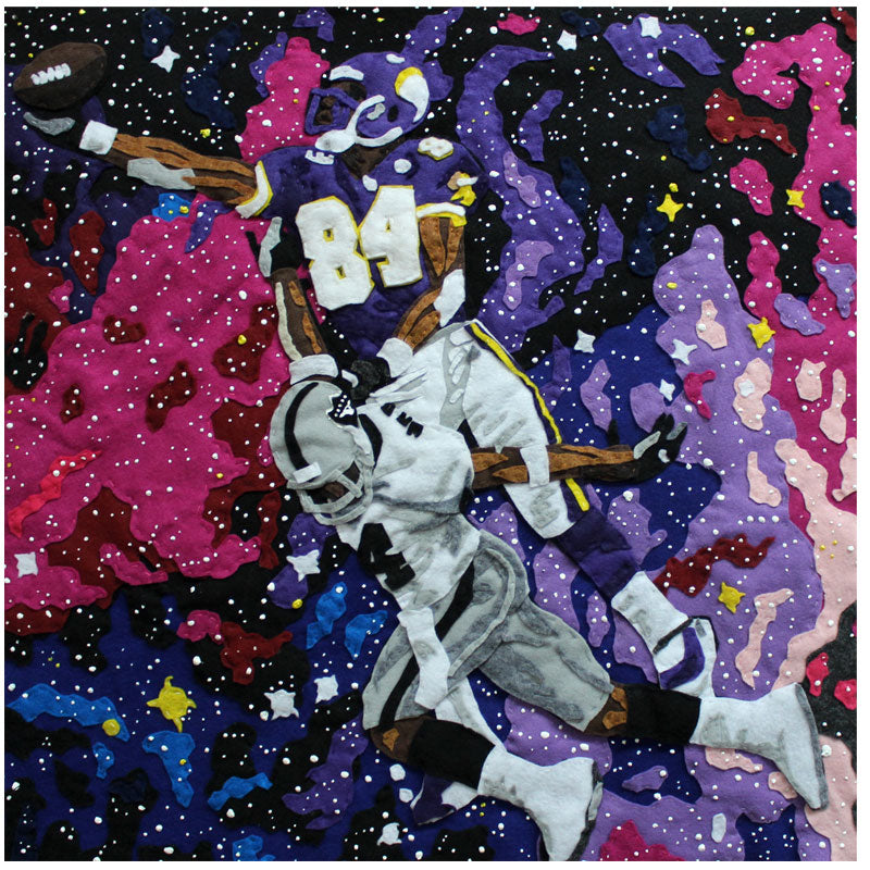 "Billy Kheel ""Space Randy"" (Randy Moss)"