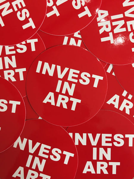 Invest In Art Stickers