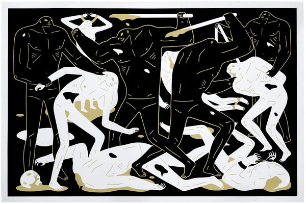 "Cleon Peterson ""Between Man And God"" (Black)"