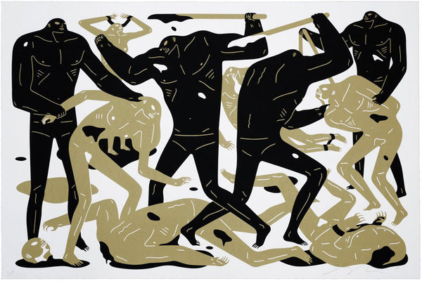 "Cleon Peterson ""Between Man And God"" (White)"