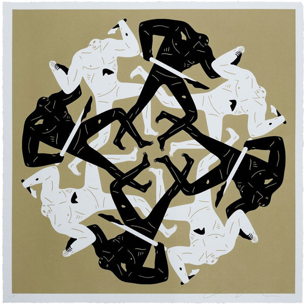 "Cleon Peterson ""Eclipse"" (Gold)"