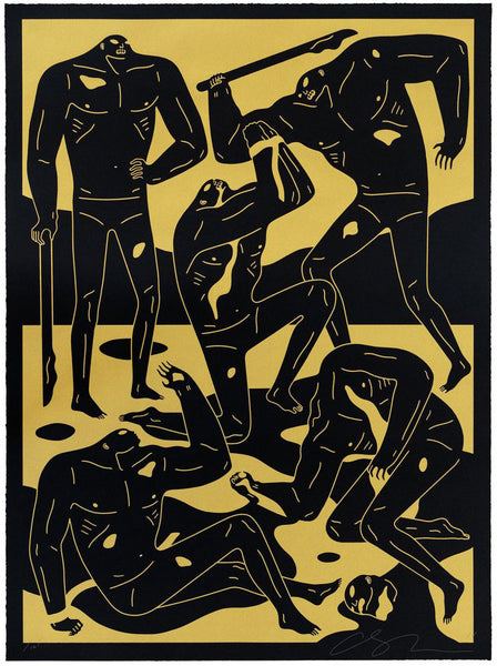 "Cleon Peterson ""Mercenaries"" (Black)"